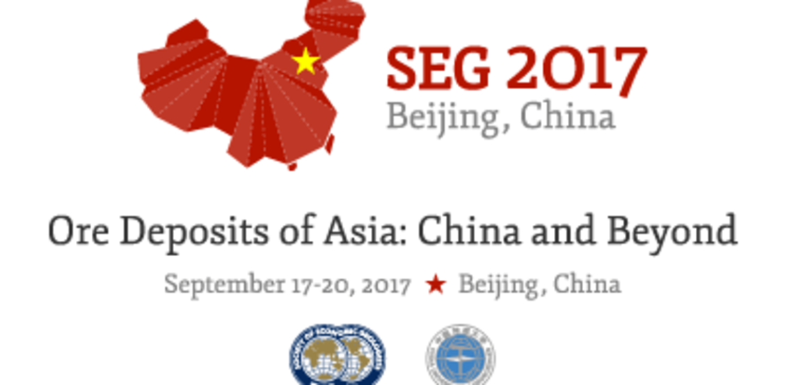 SEG 2017 Conference, Ore Deposits of Asia: China and Beyond