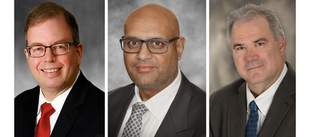 Arthur G. Graham, Avakash Patel and Grant Malensek join Roscoe Postle Associates